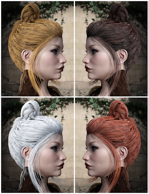 Colors for BlueBell Hair