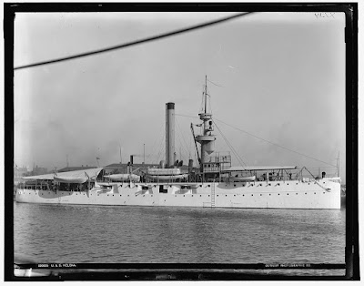 USS Helena. Photo credit: Library of Congress. https://www.loc.gov/item/det1994012875/PP/