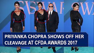 Priyanka Chopra shows off her cleavage