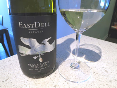 EastDell Estates Black Label Viognier 2014 - VQA Ontario, Canada (88 pts)