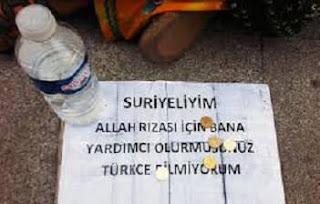 Ankara Sokaklarında Çocuklarıyla Dilenenler