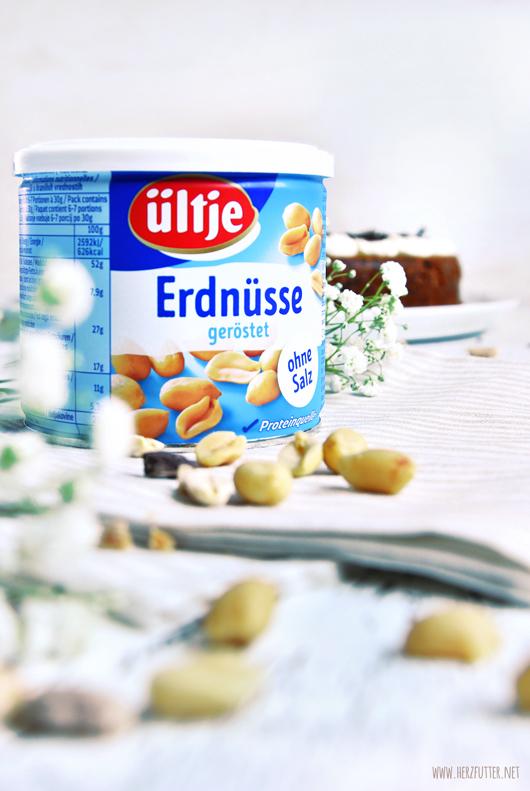 Nusskuchen mit Erdnüssen von ültje