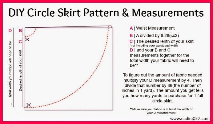 Free Circle Skirt Pattern 39
