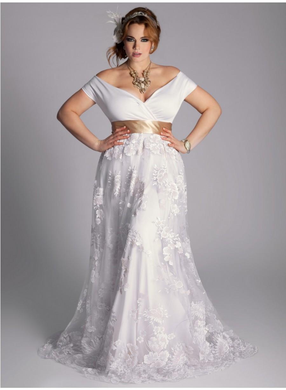 Peggyz Place Plus sized wedding gowns