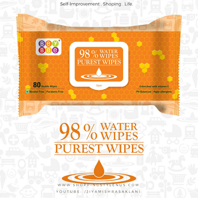 Shopping, Style and Us: India's Best Shopping and Self-Help Blog - Bey Bee, a progressive brand in baby care products, armed with a genuine research and development unit in the sector announces the launch of India's 1st Toxin Free Baby Wipes.