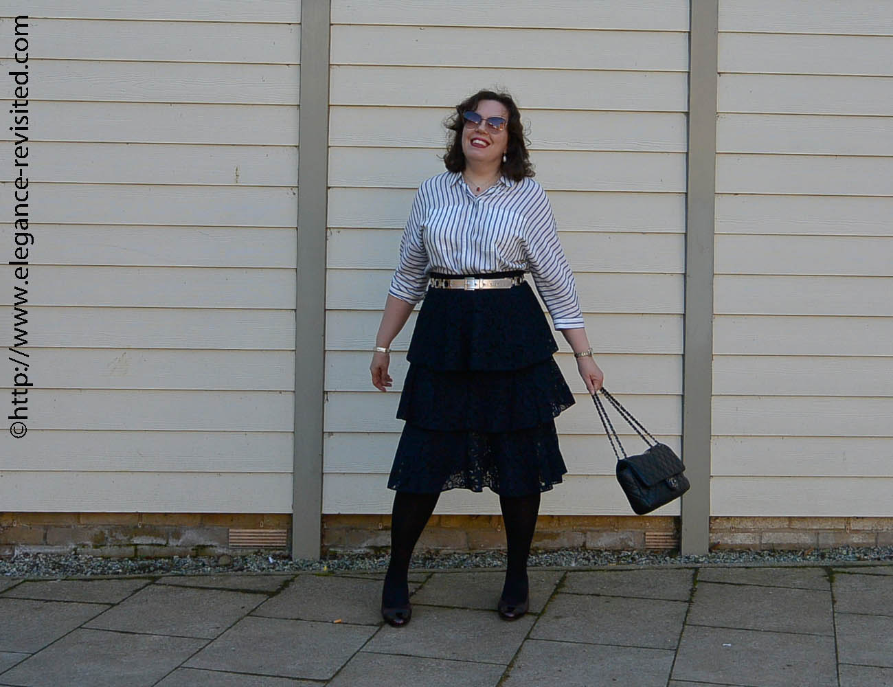 how to wear frills over 40
