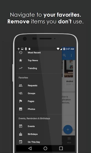 تحميل تطبيق Simple for Facebook Pro بديل تطبيق الفيس بوك النسخة المدفوعة,Simple for Facebook Pro