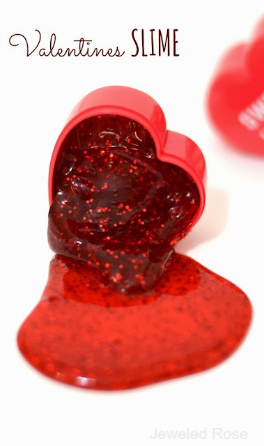 You Make My Heart Melt- Valentines SLIME Recipe