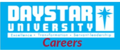 Vacancies at Daystar university 2019
