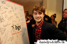 Updated: Daniel Radcliffe attended BGC Partners' 9/11 charity event