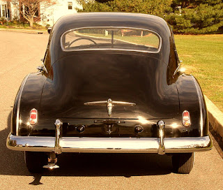1950 Chevrolet Fleetline Deluxe Rear