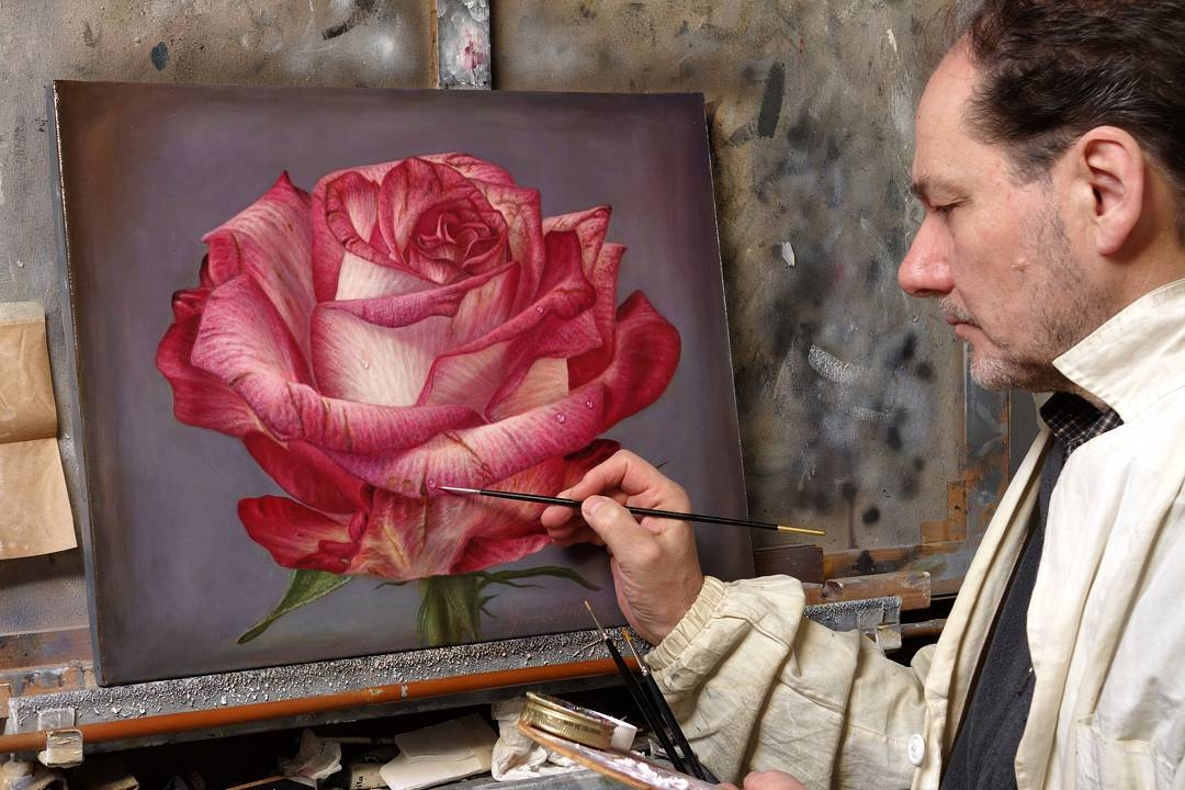 07-Gioacchino-Passini-Realistic-Paintings-of-Flowers-and-Roses-www-designstack-co