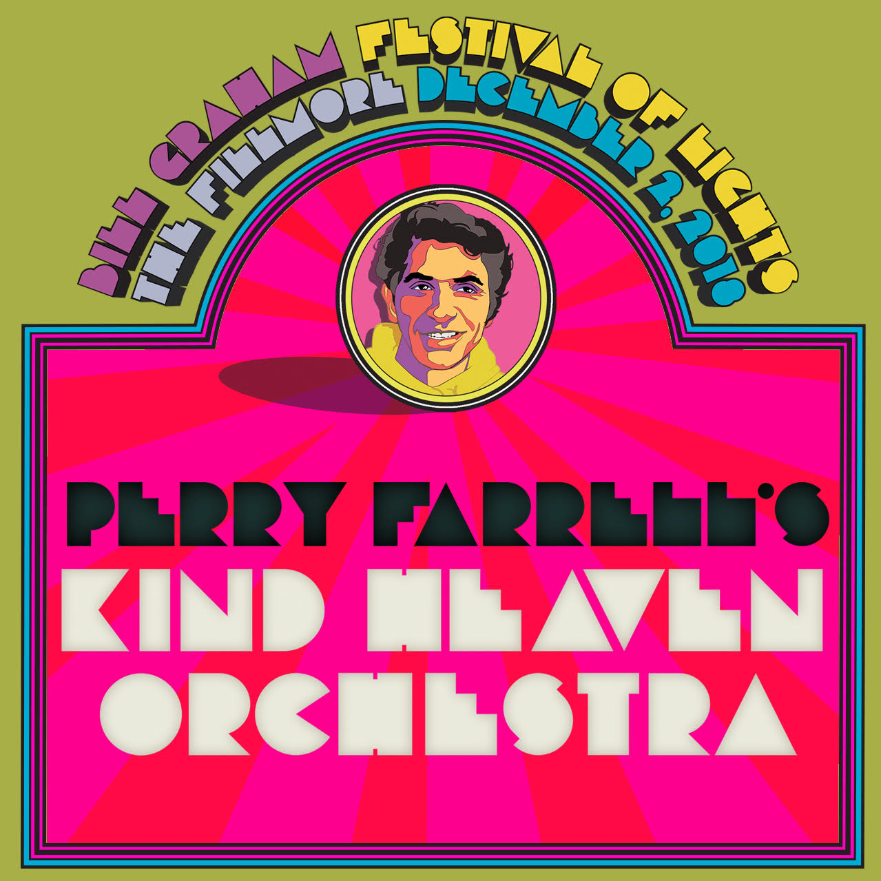 12/2 : Perry Farrell's Kind Heaven Orchestra Balkan Bump Jerry's Kosher Deli