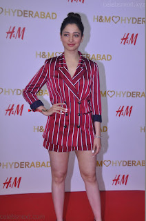 Tamannah Bhatia Exclusive in Red Blazer and Red Shorts Spicy Pics ~  Exclusive 053.JPG