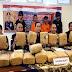 Reserse Narkoba Polda Sumbar Ringkus 2 Pengedar dan Sita 38 Kilogram Ganja Asal Aceh