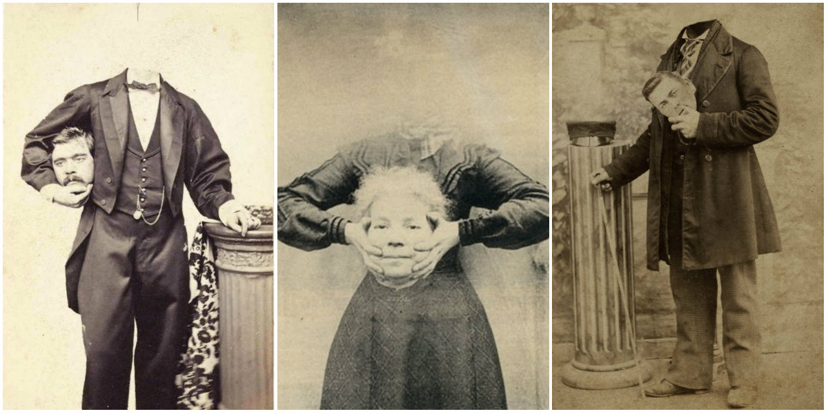 Before The Photoshop Here Are 20 Creepy Headless Portraits From The Victorian Era Vintage Everyday