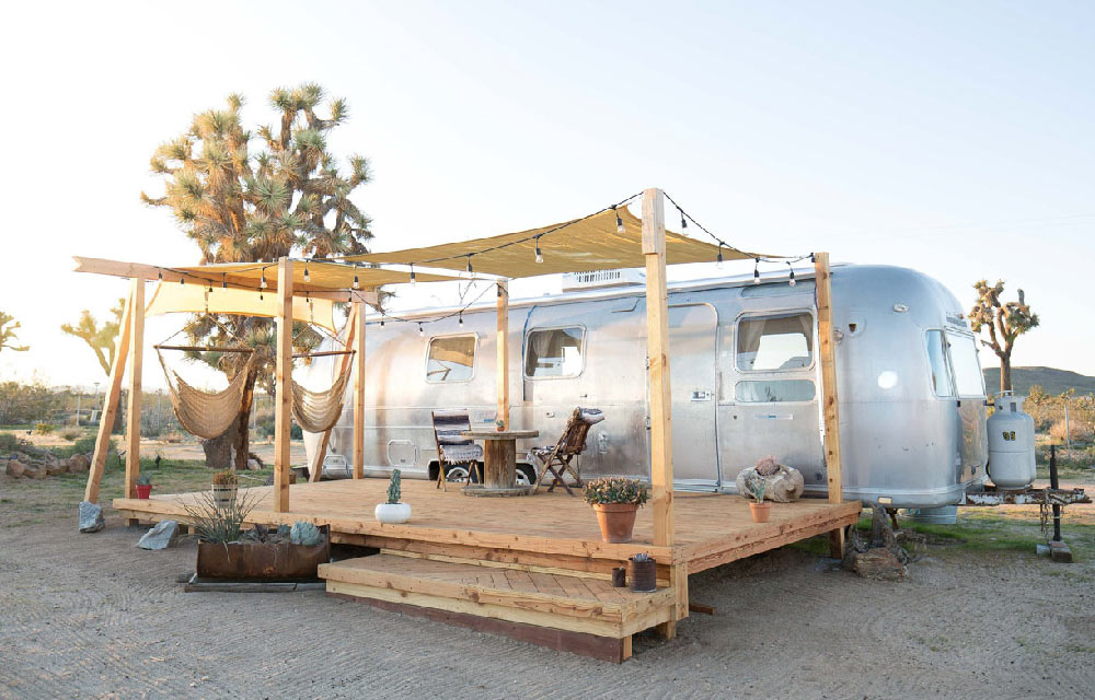 Airbnb Airstream Joshua Tree National Park