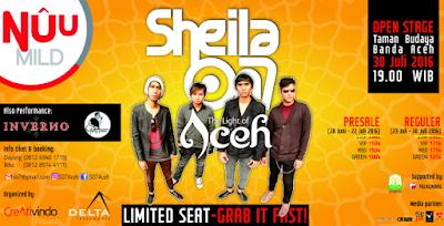Hormati Aceh yang Sedang Berduka, Konser Sheila on 7 di Banda Aceh Ditunda