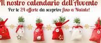 Logo Calendario dell'Avvento Libraccio: ogni giorno offerte tutte da scoprire