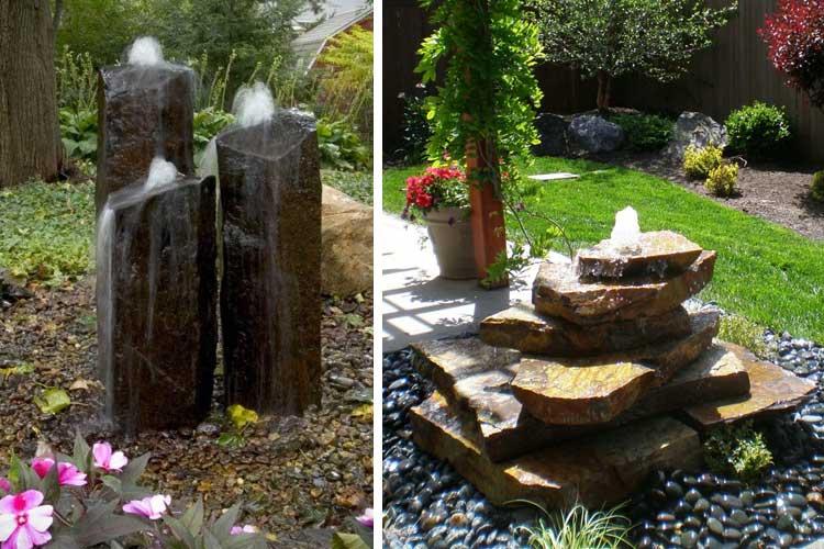 Marzua fuentes de jard n for Fuentes de jardin solares