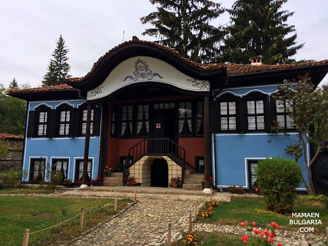 Casa Lyutova, museo Etonográfico de Koprivshtitsa, Bulgaria