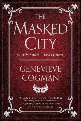 Bea's Book Nook, Review, The Masked CIty, Genevieve Cogman