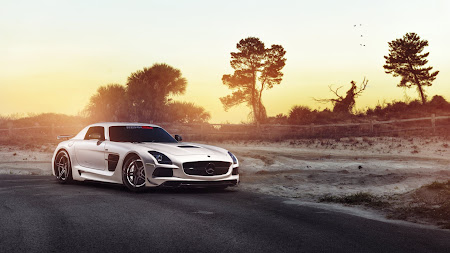 Mercedes SLS 1920x1080 HD