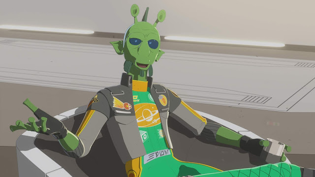 """The High Tower"" star wars resistance"