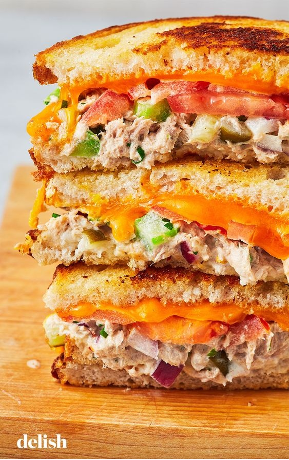Best-Ever Tuna Melt