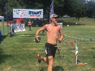 Zachary Szablewski trail runner at Habanero 100 race