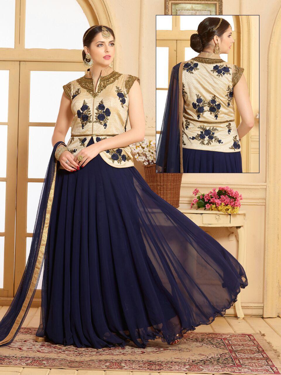 546 A-549 b – Latest Heavy Wedding Wear Designer Salwar Suit