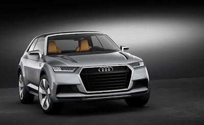 Audi Q9 Crossover Coupe Concept, Date de sortie, Prix