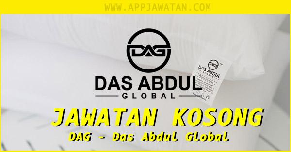 Jawatan Kosong di DAG - Das Abdul Global