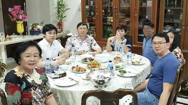 Ahok Pulang Kampung, Adik: Happy To Be Home at Kampung