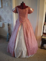 Ariel's Pink Ballgown Tutorial by Tracy's Costuming World