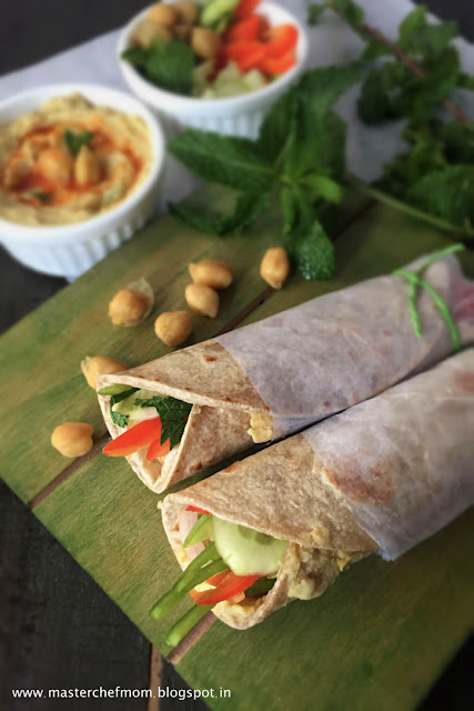 Lebanese Wrap | How to make Lebanese Wrap At Home