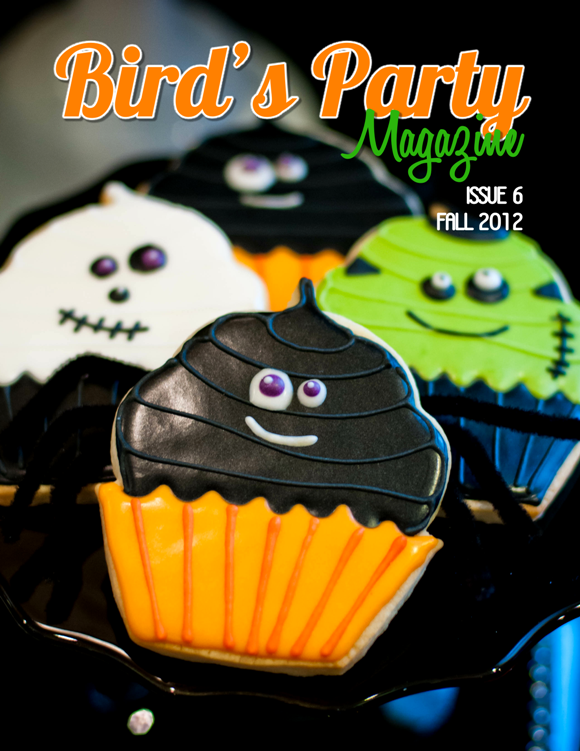 Bird's Party Ideas Magazine | 2 Sponsor Spots