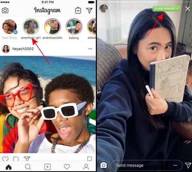 Cara Berbagi Instagram Stories Hanya Dengan Teman Dekat