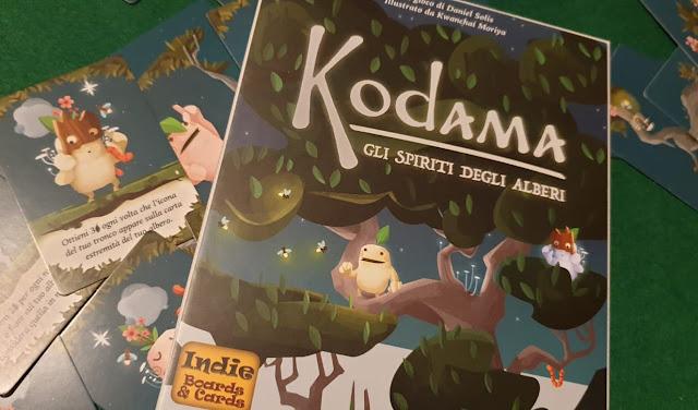 """""""Kodama"""", gli spiriti degli alberi in un gioco di carte"""