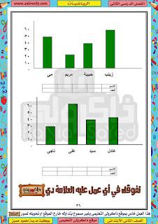 حصريا حمل بوكليت مدرسة محمود حسين في الرياضيات للصف الثاني الابتدائي الترم الثاني
