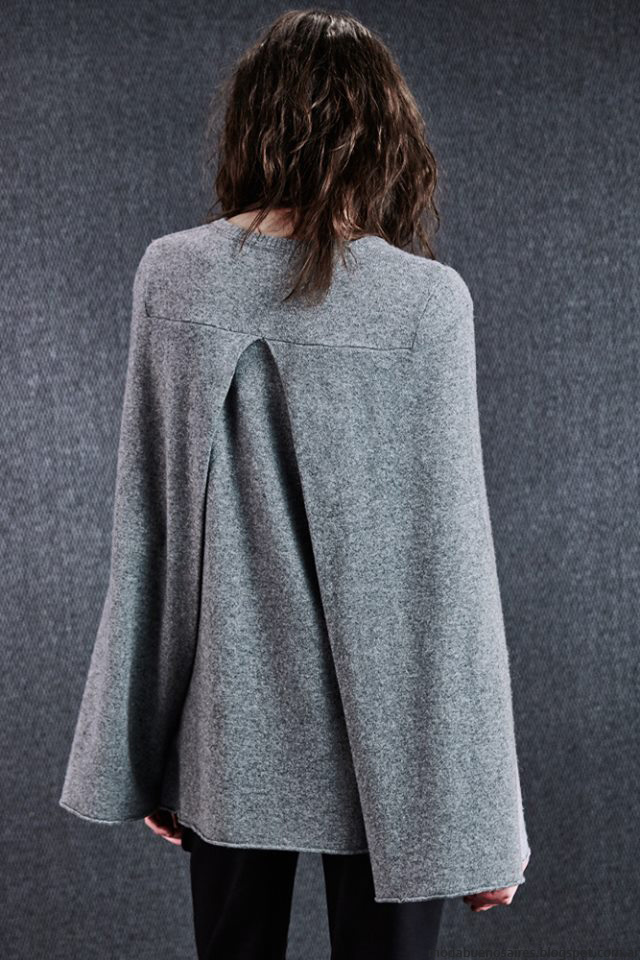 Capas de moda invierno 2016 ropa de moda Paula Cahen D'Anvers invierno 2016.