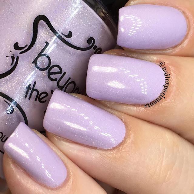 beyond the nail polish in flowing unicorn mane