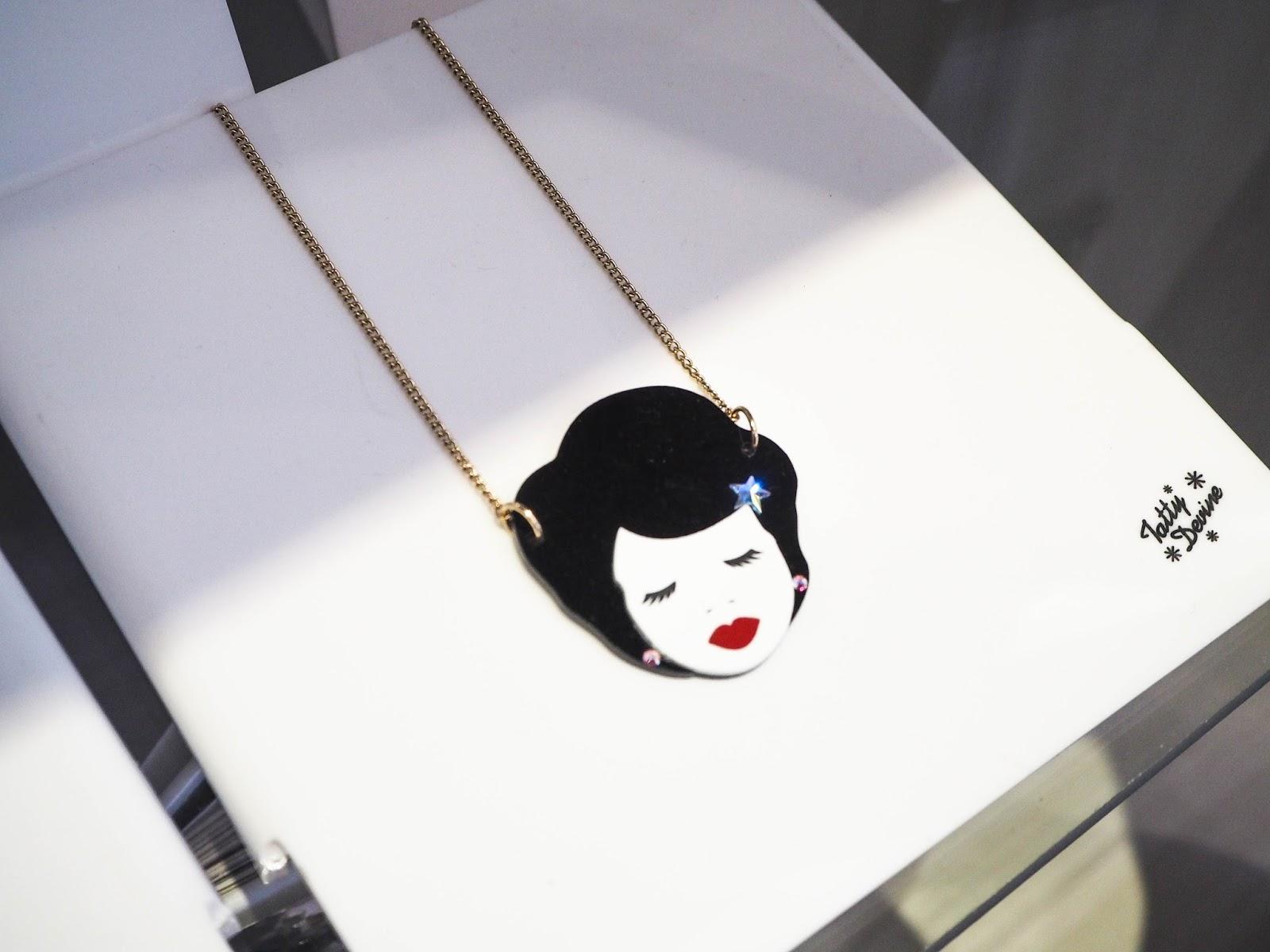 Tatty Devine virgo horoscope collection necklace
