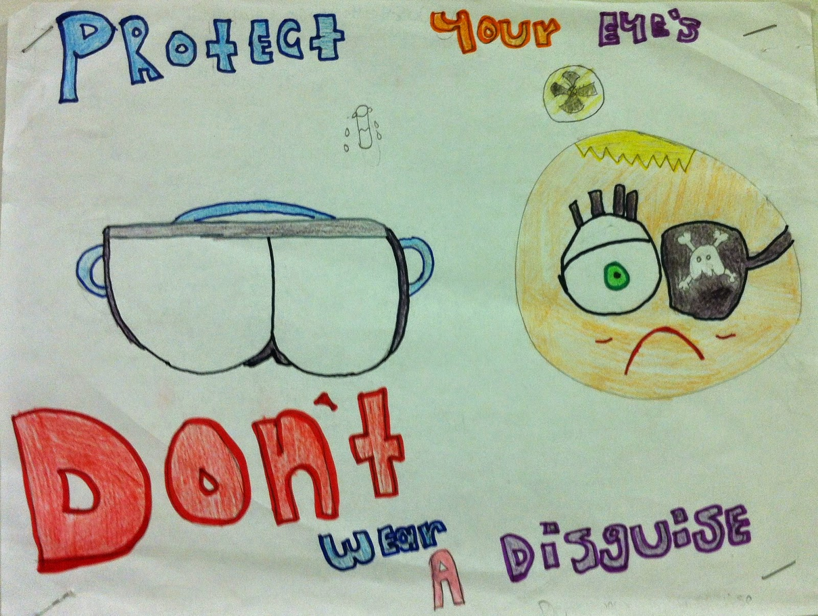 We Teach High School Safety Posters