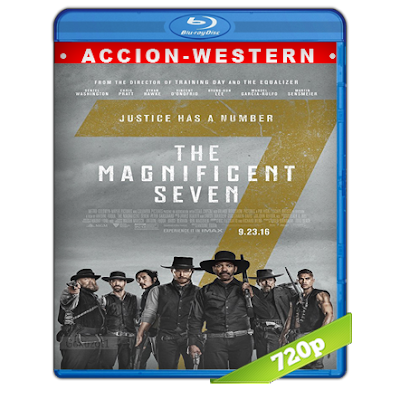 Los Siete Magnificos (2016) BRRip 720p Audio Trial Latino-Castellano-Ingles 5.1