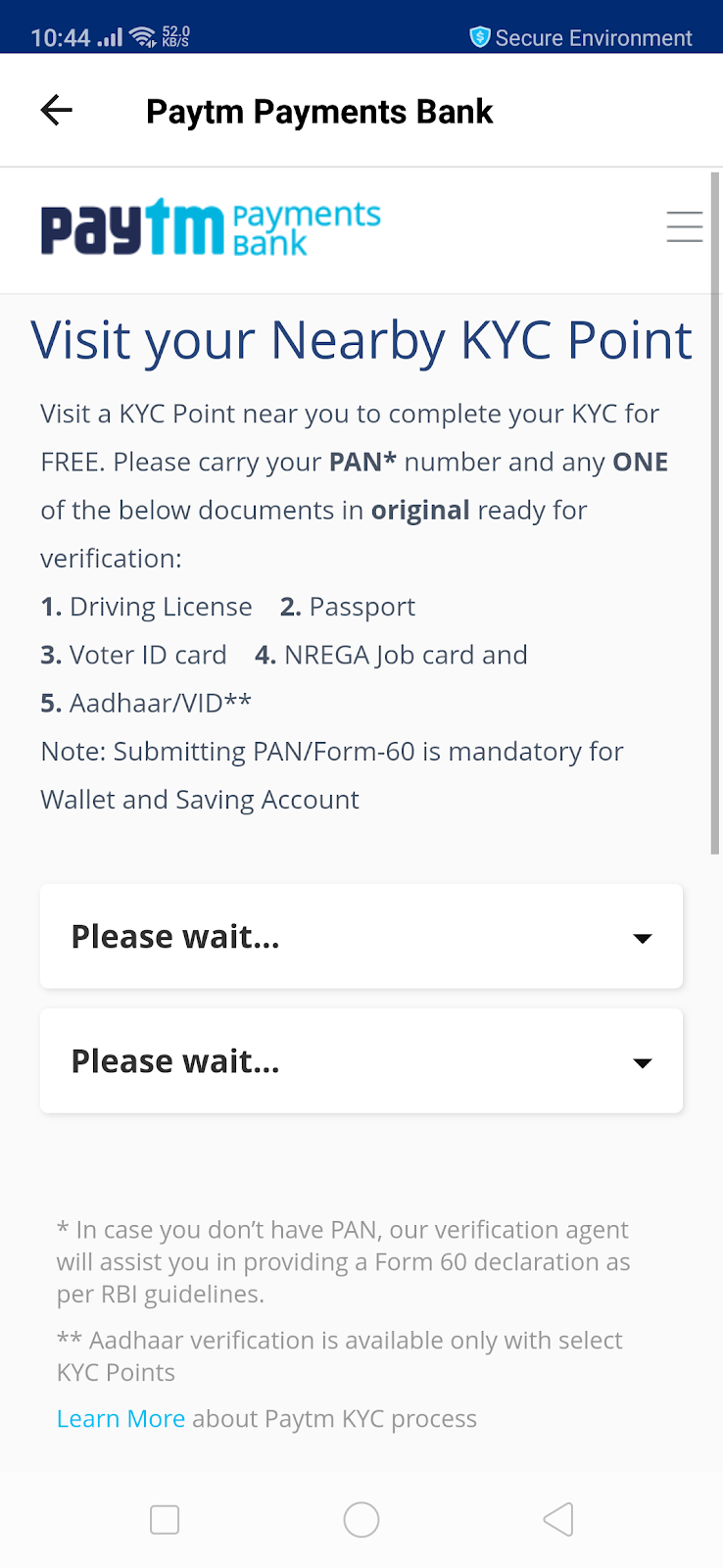how to complete paytm kyc with aadhar online in hindi - MJLINK