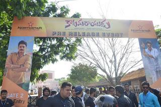 katamarayudu pre release event