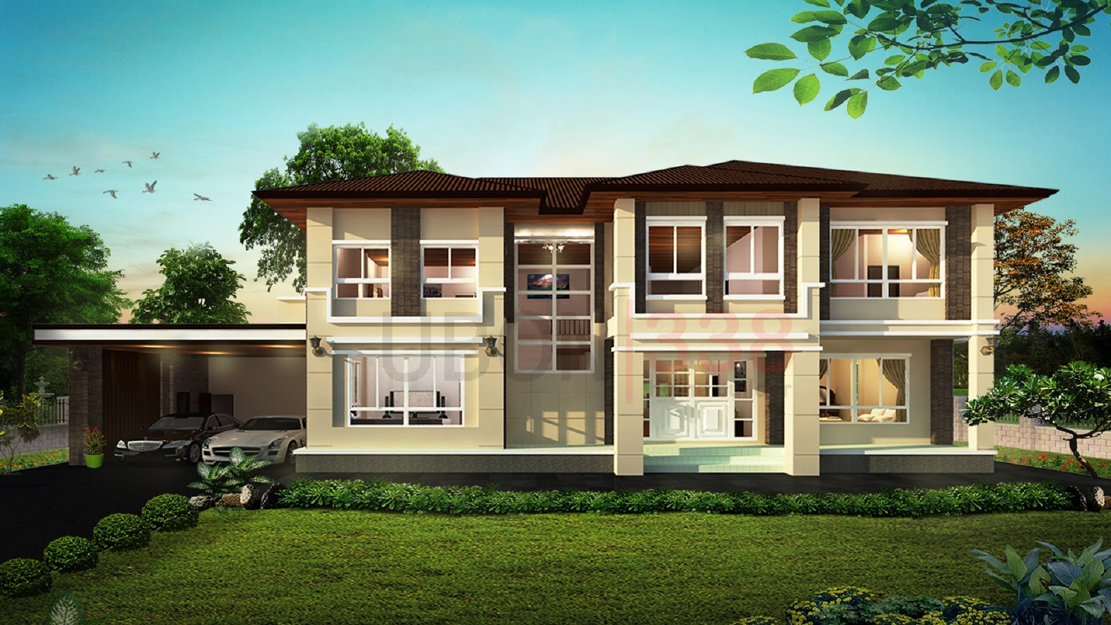 For some people, the bigger the house the better especially if you have big families. Nowadays, there are many two-story modern styles that have been popular to fits the life in the city. We love to have large interiors that are spacious and airy. The following 12 houses can be considered as suitable for big families because it has four to five bedrooms and living room large enough for all members of the family. Aside from giving your kids with their own room, still you can have a guest room.   Living in a spacious house has many advantages. People living in small areas will be the first one to realize that there is a big difference.  It allows you to design and personalize and provides more space for everyone!  If you liked this house, you might want to consult this design with your architect.