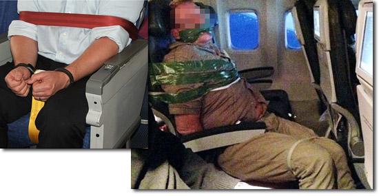 Segredos que os pilotos de avião não contam aos passageiros - Algemas a bordo