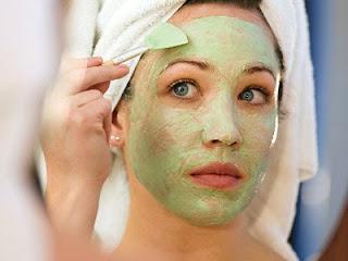 masker mentimun untuk kulit wajah kering